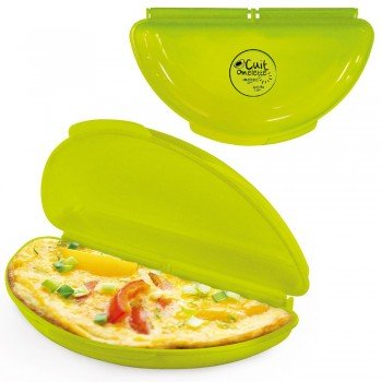 Cuit omelette micro-ondes
