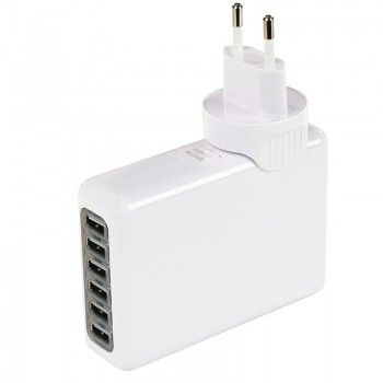 Chargeur universel 6 ports USB