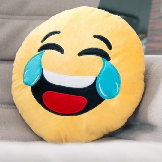 Coussin Emoji;