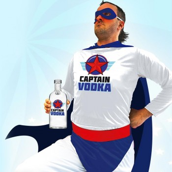Déguisement Captain Vodka