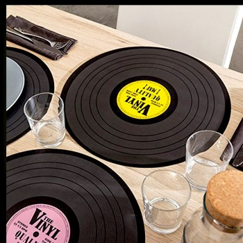 6 sets de table collection vinyl