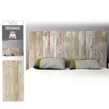 d co facile mur de stickers effet plaque m tal vintage 34 95. Black Bedroom Furniture Sets. Home Design Ideas
