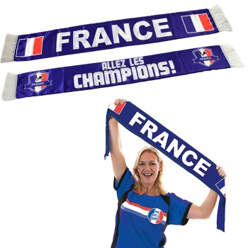 Lot de 2 écharpes de supporter France