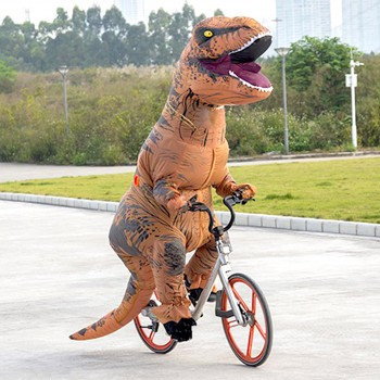 T-Rex costume gonflable dinosaure
