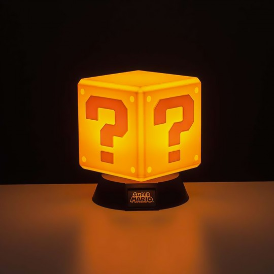 Lampe Question block Super Mario