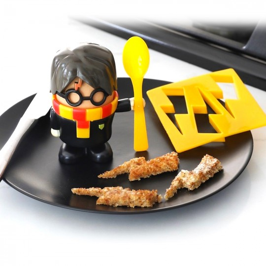 Kit coquetier toast Harry Potter