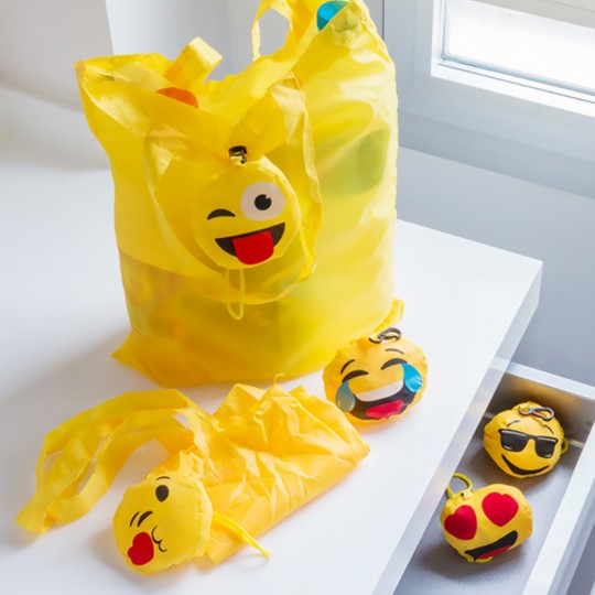 Sac shopping Emoji de poche