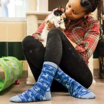 Chaussettes Femme Dogs