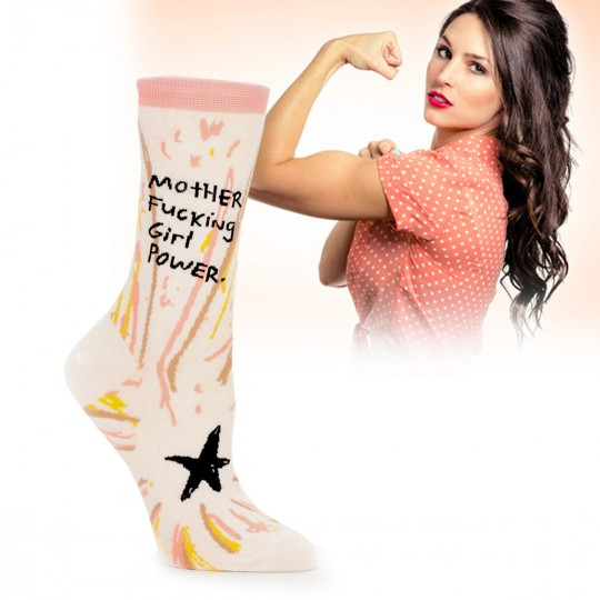 Chaussettes mother fucking girl power