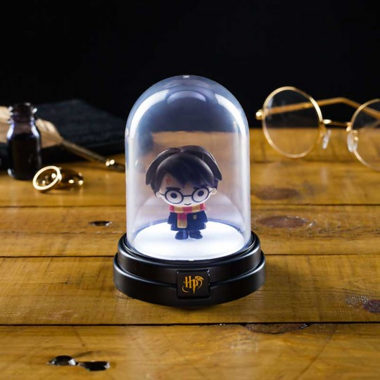 Mini lampe sous cloche Harry Potter