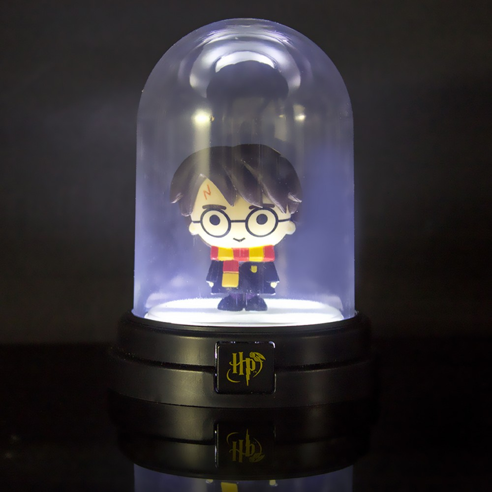 veilleuse mini lampe sous cloche harry potter 14 50. Black Bedroom Furniture Sets. Home Design Ideas