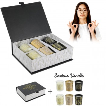 Coffret Wonderful Life 6 bougies vanille