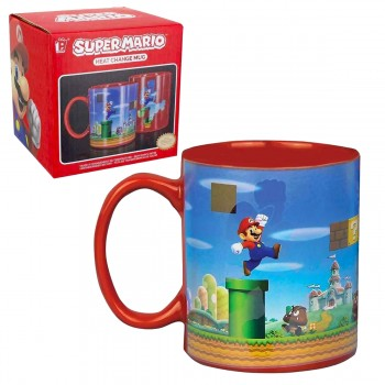 Mug thermoréactif Super Mario