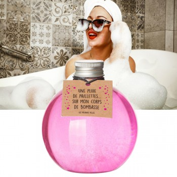 Gel douche paillettes bubble gum