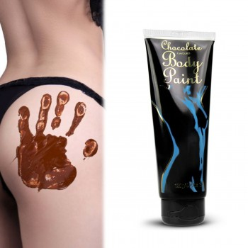 Body Paint chocolat, peinture comestible