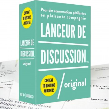 Jeu Lanceur de Discussion, Original