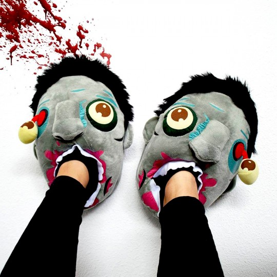 Chaussons zombie