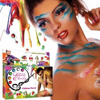Kit Body Paint fruité