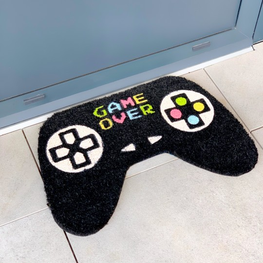 Paillasson manette de console game over