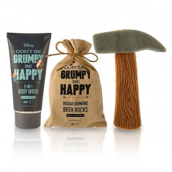 Coffret de bain Don't be grumpy Be happy