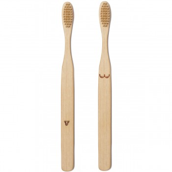Duo de brosses à dents bambou