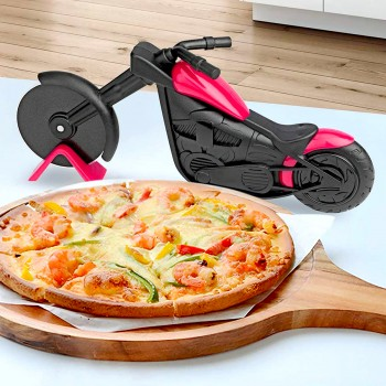 Roulette à pizza Moto chopper