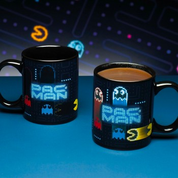 Mug Pac-Man thermosensible