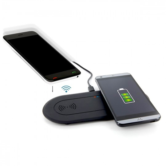 Chargeur induction double