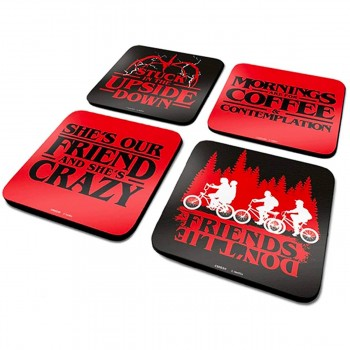 Sous-verres Stranger Things