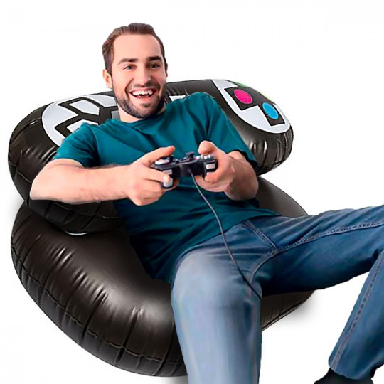Fauteuil gonflable gamer