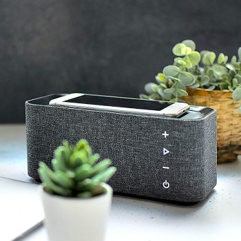 Enceinte Bluetooth chargeur induction charge rapide