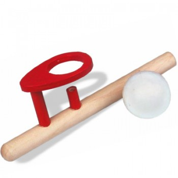Wooden Ball blower, balle en lévitation