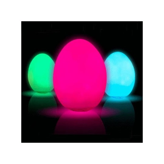 Oeuf led couleurs changeantes