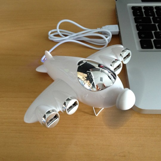 Hub USB ventilateur avion
