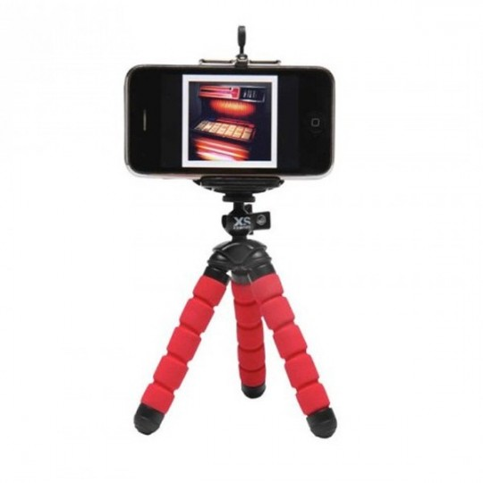 tripod support tout terrain universel pour smartphone ou. Black Bedroom Furniture Sets. Home Design Ideas