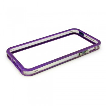 Protection bumper Violet pour iPhone 5 ou 5S