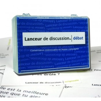 Jeu lanceur de discussion Débat