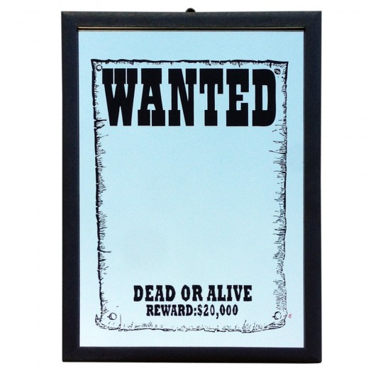 Miroir Wanted Dead or Alive