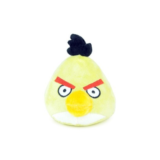 Angry birds Jaune peluche sonore