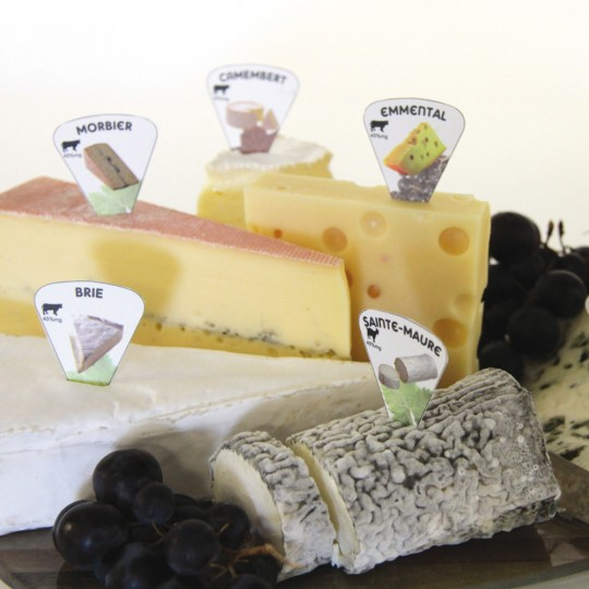 20 Marque-fromages malins