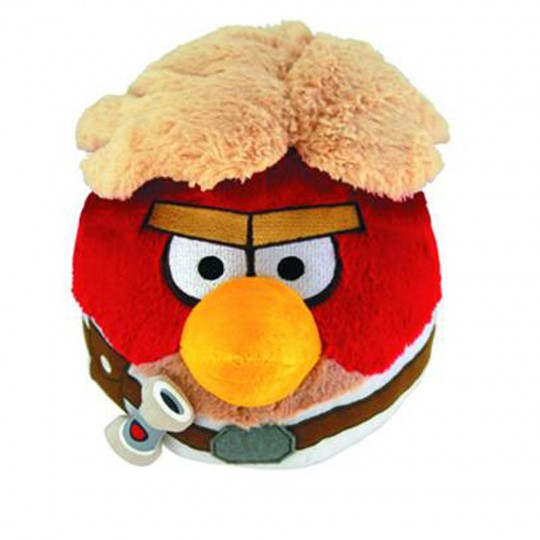 Peluche angry birds Star Wars Luke Skywalker