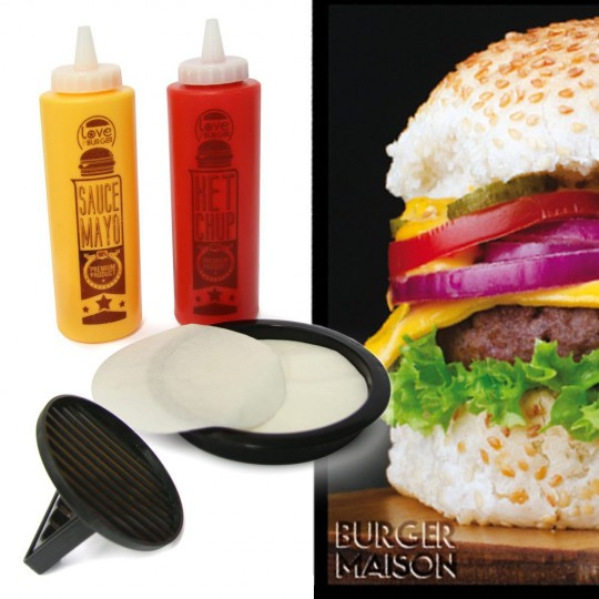 Coffret burger maison